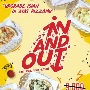 In And Out For Your Mood Upgrade Let's Upgrade Your Mood with In and Out Topping